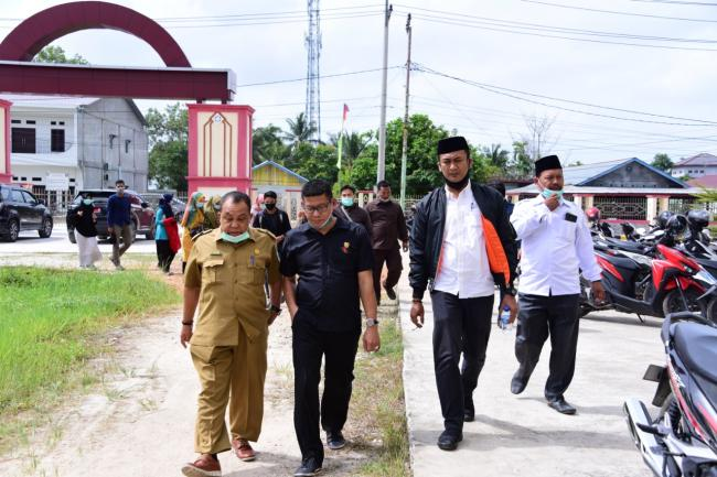 Wakil Ketua DPRD Bengkalis, Sofyan SPdi Lakukan Monitoring Aspirasi Usulan Pembangunan Masyarakat